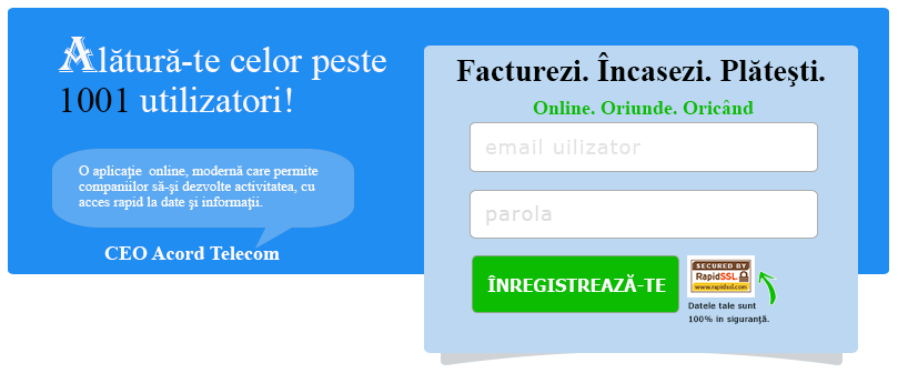 creeaza-ti cont in platforma de facturare FirstCont